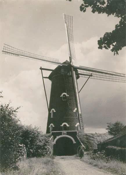 Jacobusmolen oude foto