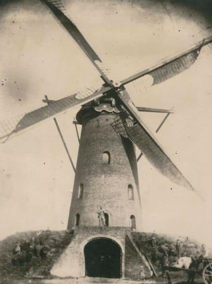 Jacobusmolen oudste foto